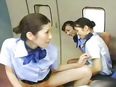 جنس: يابانيات, آسيوى, في العلن, جوارب طويلة