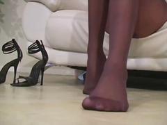 Porn: Samozadovoljevanje, Nogavice, Ženska Dominacija, Hlačne Nogavice