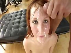 Porno: Kəfləmə, Pornoulduz, Sarışın, Sifətə Tökmək
