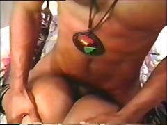 Porno: Paar, Vintage, Sügavale Kurku, Tagumik