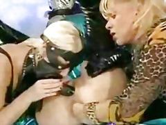 Porno: Fetitxe, Cuir, Extrem, Dona Amb Consolador Cinturó