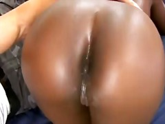Hardcore action with johnny sins and his ebony slut whose name is osa lovely