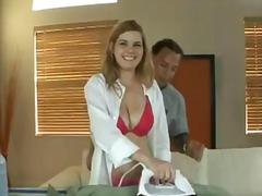 ポルノ: ポルノスター, ランジェリー, おっぱい, 金髪