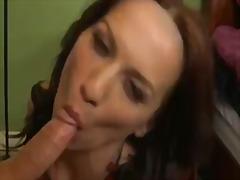 Porno: Flokëkuqe, Thell Në Fyt, Lingerie, Me Fytyrë
