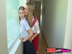 lesbiana madura seduce