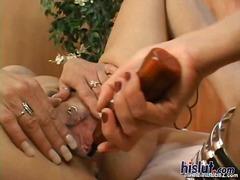 Porno: Leketøy, Piercing, Leketøy, Oralsex