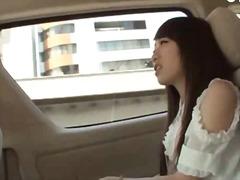 جنس: خارج المنزل, في السيارة, آسيوى, يابانيات
