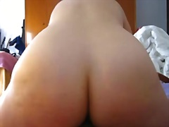 Large a-hole exgirlfriend riding rod till creampie