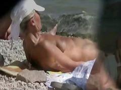 Porno: Publiek, Buiten, Gluurder, Strand