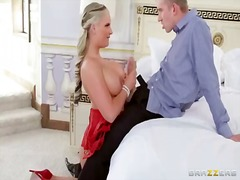 Danny d and phoenix marie are having impressive hard sex session during naughty group action