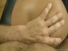 Brunette hottie jane m likes having hunk rocco siffredi deep fucking her tight vag