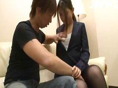 جنس: جوارب طويلة, في المكتب, قبلات, يابانيات