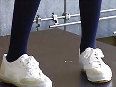 جنس: جوارب طويلة, آسيوى, فردى, بنات مدارس