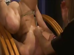 Horny sluts barbie pink and nikky thorne having naughty time in lesbian softcore