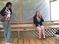 Porno: Mīšana, Lesbietes