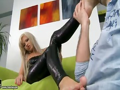 Porno: Fetish Picior, Blonde