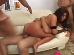 Porno: Gangbang, Dubultā Drāšana, Drāšana