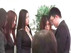 Porn: V Pisarni, Žensko Spodnje Perilo, Orgija, Japonka
