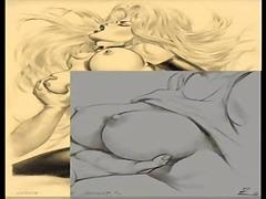 Porno: Große Brüste, Titten, Natürliche Brüste, Bondage