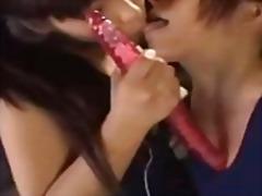 Порно: Лесбійки, Японки, Вона Дрочить, Дільдо