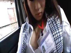 جنس: جوارب طويلة, في السيارة, آسيوى, يابانيات