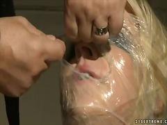 Porn: Blondinka, Prhanje, Golota