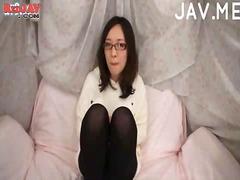 جنس: خلع الملابس, يابانيات, آسيوى, جوارب طويلة