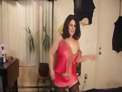 Porno: Dansen, Zwart, Roze, Jongedame