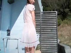 Porn: Žensko Spodnje Perilo, Azijci, Nogavice, Zunaj