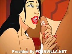 Порно: Пар, Цртан