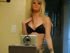 Porno: Striptiz, Sarışın
