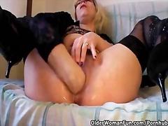Porn: बुड्ढी औरत, मिल्फ़