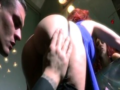 Porn: Rdečelaska, Velika Rit, Drgnjenje, Vstavitev