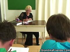 Porn: Resničnost, Starejše Ženske, Babica, Mamica