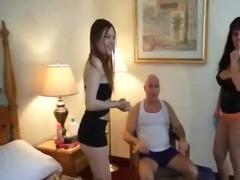 Porn: Trojček, Rit, Žensko Spodnje Perilo, Zvezan