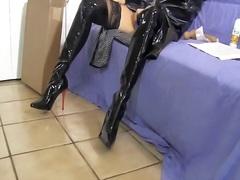 جنس: أحذية طويلة, نكاح اليد, الزبار الصناعية