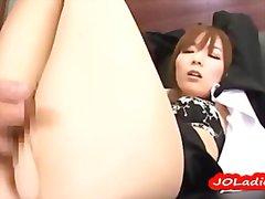 Porn: Par, V Pisarni, Japonka