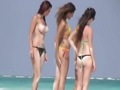 Порно: Дівчата, Пляж, Шпигунки, Італійки