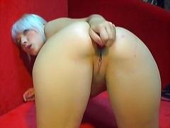 Porno: Rubia, Estrechita, Consolador