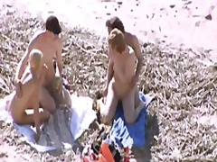 Porr: Strand, Offentligt, Grupp