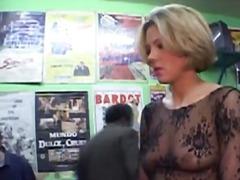 Porno: Reāli Video, Meitenes, Publiskais Sekss, Blondīnes