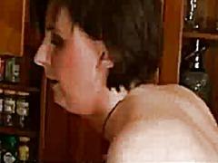 جنس: في المطبخ, وضعية الكلب, نيك جامد