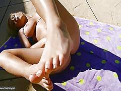 ポルノ: 脚フェチ, 金髪, フレッシュギャル, フェティッシュ