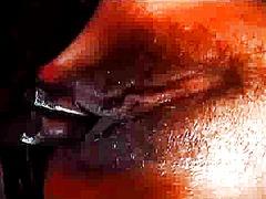 포르노: 진동기, 라텍스, 소녀, 흑인
