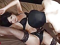 Porno: Yapon, Qadın Kişini, Strapon, Bdsm