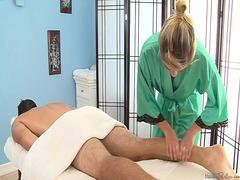 Porn: Loura, Massagem, Fetiche