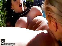 Porn: Žensko Spodnje Perilo, Lezbijka, Pička, Lezbijka