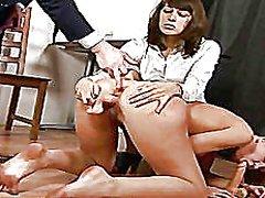 جنس: في المكتب, زوجان, كساس حليقة, سكيرتيرات