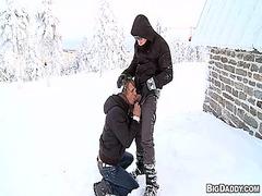 פורנו: חרמניות, גבר, ציבורי, הומואים