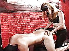 Porno: Dona Amb Consolador Cinturó, Dominació-Submissió, Làtex, Dones Dominades